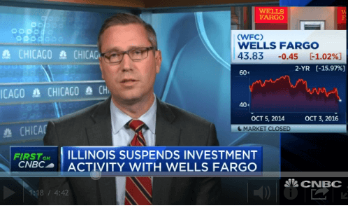 Illinois Treasurer Will Punish Taxpayers, Blameless Shareholders and Employees for Wells Fargo Scandal – WP Original