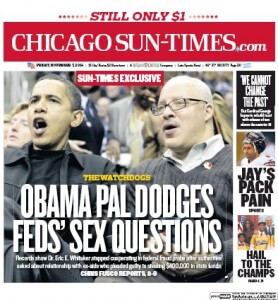 Sun-Times Front Page Nov. 7, 2014